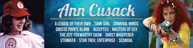 Celebrity Banner for Ann Cusack