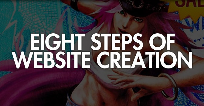 Website Creation in 8 Understandable Steps